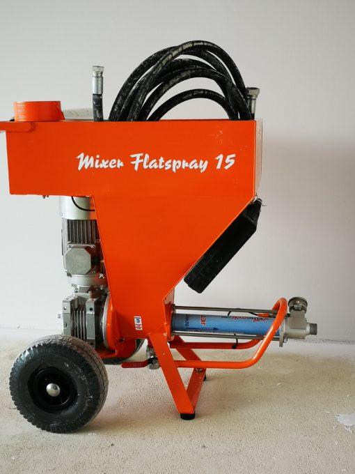 MIXER FLATSPRAY - AIRLESS 4
