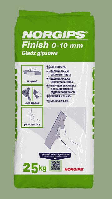 NORGIPS Finish 0-10mm, 25 kg 2